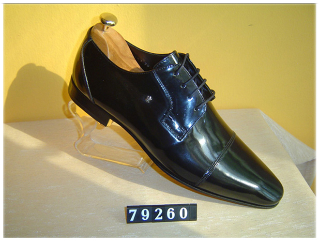 Pedro Camino black patent shoes